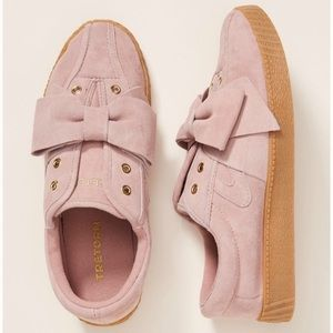 Anthropologie Tretorn Nylite Bow Sneakers